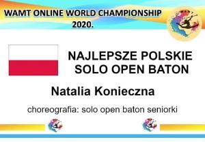 Mistrzostwa Świata Mażoretek online 2020